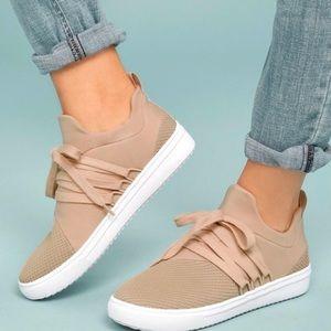 Steve Madden Blush Lancer Sneakers | Size 7.5 M